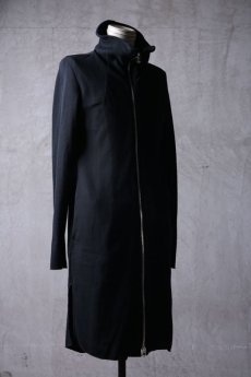 "画像3: Thee OLD CIRCUS '' 1973 '' / 9331 / "" Bomb rain "" / DISTORTION NECK WAFFLE KNIT LONG COAT (3)"