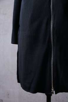 "画像12: Thee OLD CIRCUS '' 1973 '' / 9331 / "" Bomb rain "" / DISTORTION NECK WAFFLE KNIT LONG COAT (12)"