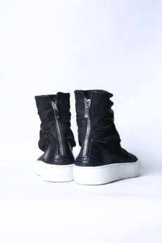 画像3: the last conspiracy / ザ・ラスト・コンスピラシー / TLC1835 / MATT HORSE LEATHER BACK ZIP SNEAKERS (3)