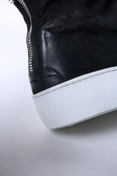 画像13: the last conspiracy / ザ・ラスト・コンスピラシー / TLC1835 / MATT HORSE LEATHER BACK ZIP SNEAKERS (13)