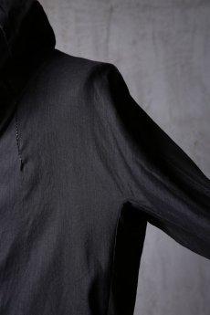 画像15: Wir Lineal / リネアル / WL-1103-311 / Inorganic structure dolman sleeve zip hoodie (15)
