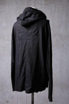 画像7: Wir Lineal / リネアル / WL-1103-311 / Inorganic structure dolman sleeve zip hoodie (7)