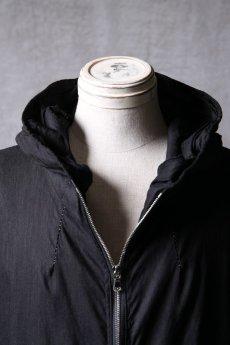 画像9: Wir Lineal / リネアル / WL-1103-311 / Inorganic structure dolman sleeve zip hoodie (9)