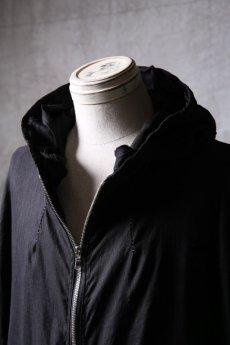 画像10: Wir Lineal / リネアル / WL-1103-311 / Inorganic structure dolman sleeve zip hoodie (10)