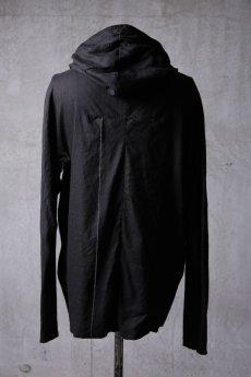 画像8: Wir Lineal / リネアル / WL-1103-311 / Inorganic structure dolman sleeve zip hoodie (8)