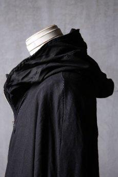 画像11: Wir Lineal / リネアル / WL-1103-311 / Inorganic structure dolman sleeve zip hoodie (11)