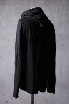 画像6: Wir Lineal / リネアル / WL-1103-311 / Inorganic structure dolman sleeve zip hoodie (6)
