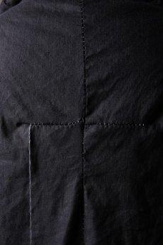 画像18: Wir Lineal / リネアル / WL-1103-311 / Inorganic structure dolman sleeve zip hoodie (18)
