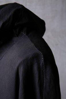 画像16: Wir Lineal / リネアル / WL-1103-311 / Inorganic structure dolman sleeve zip hoodie (16)