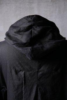 画像13: Wir Lineal / リネアル / WL-1103-311 / Inorganic structure dolman sleeve zip hoodie (13)