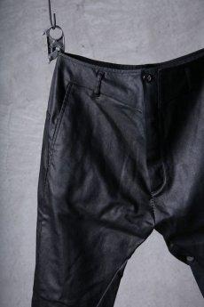 画像3: incarnation / インカネーション / 31981-6452 / COTTON ELASTANE DENIM LONG DARTS SARROUEL PANTS (3)