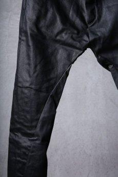画像5: incarnation / インカネーション / 31981-6452 / COTTON ELASTANE DENIM LONG DARTS SARROUEL PANTS (5)