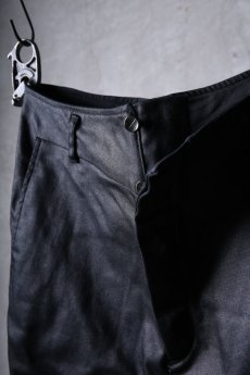 画像10: incarnation / インカネーション / 31981-6452 / COTTON ELASTANE DENIM LONG DARTS SARROUEL PANTS (10)