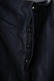 画像9: incarnation / インカネーション / 31981-6452 / COTTON ELASTANE DENIM LONG DARTS SARROUEL PANTS (9)