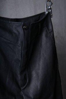 画像8: incarnation / インカネーション / 31981-6452 / COTTON ELASTANE DENIM LONG DARTS SARROUEL PANTS (8)