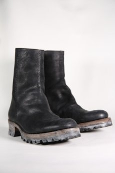 "画像5: Thee OLD CIRCUS '' 1973 '' / 9-730-RE / "" thee - RE "" / W-SHOULDER LEATHER ONE PIECE FRONT BACK ZIP BOOTS (5)"