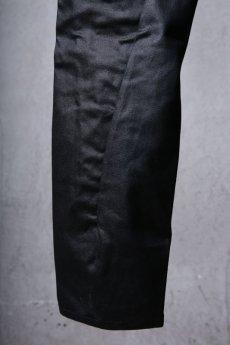 画像6: incarnation / インカネーション / 31981-6452 / COTTON ELASTANE DENIM LONG DARTS SARROUEL PANTS (6)