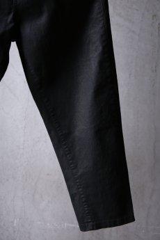 画像6: NostraSantissima / ノストラ サンティッシマ / P04 / Overfit stretch coated pants (6)