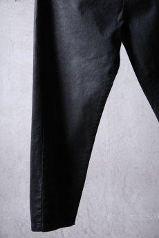 画像5: NostraSantissima / ノストラ サンティッシマ / P04 / Overfit stretch coated pants (5)