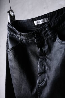 画像10: NostraSantissima / ノストラ サンティッシマ / P04 / Overfit stretch coated pants (10)