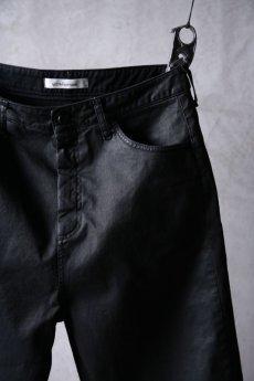 画像4: NostraSantissima / ノストラ サンティッシマ / P04 / Overfit stretch coated pants (4)