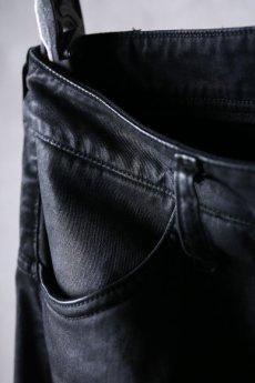 画像8: NostraSantissima / ノストラ サンティッシマ / P04 / Overfit stretch coated pants (8)