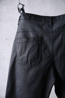 画像12: NostraSantissima / ノストラ サンティッシマ / P04 / Overfit stretch coated pants (12)
