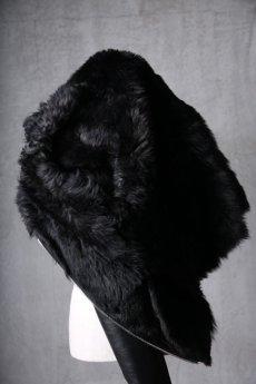 画像19: incarnation / インカネーション / 31991-4690 / SHEEP SHEARLING HIGH NECK ZIP BLOUSON SPIRAL ARM (19)