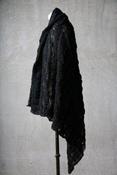 画像4: Thee OLD CIRCUS '' 1973 '' / 0401 / Cover up star / Italian fabric Wool blend knit cape (4)