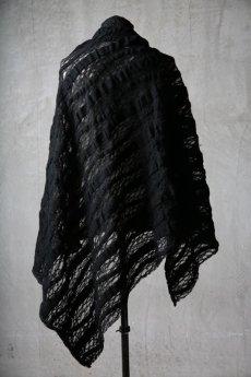 画像8: Thee OLD CIRCUS '' 1973 '' / 0401 / Cover up star / Italian fabric Wool blend knit cape (8)