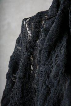 画像15: Thee OLD CIRCUS '' 1973 '' / 0401 / Cover up star / Italian fabric Wool blend knit cape (15)