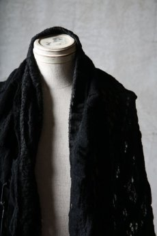 画像10: Thee OLD CIRCUS '' 1973 '' / 0401 / Cover up star / Italian fabric Wool blend knit cape (10)