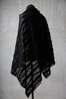 画像7: Thee OLD CIRCUS '' 1973 '' / 0401 / Cover up star / Italian fabric Wool blend knit cape (7)
