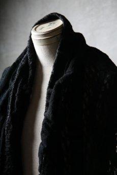 画像14: Thee OLD CIRCUS '' 1973 '' / 0401 / Cover up star / Italian fabric Wool blend knit cape (14)