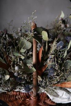 画像13: Ciliegio  / チリエージョ / CIL-F-0003 / Dried flower basket / #1 (13)