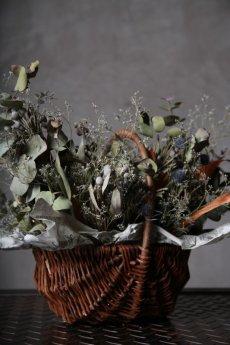 画像6: Ciliegio  / チリエージョ / CIL-F-0003 / Dried flower basket / #1 (6)