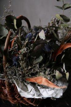 画像14: Ciliegio  / チリエージョ / CIL-F-0003 / Dried flower basket / #1 (14)