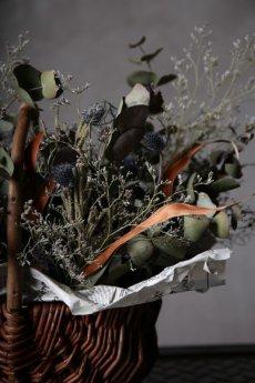 画像9: Ciliegio  / チリエージョ / CIL-F-0003 / Dried flower basket / #1 (9)