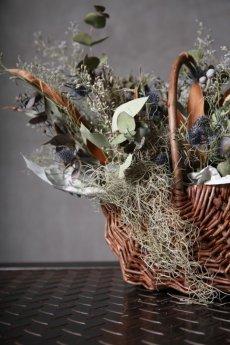 画像17: Ciliegio  / チリエージョ / CIL-F-0003 / Dried flower basket / #1 (17)
