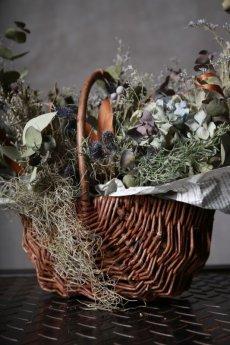 画像18: Ciliegio  / チリエージョ / CIL-F-0003 / Dried flower basket / #1 (18)