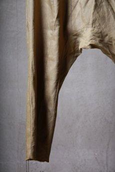 画像15: Wir Lineal / リネアル / WL-1104-311 / Inorganic structure sarrouel relax pants (15)