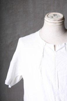 画像9: Wir Lineal / リネアル / WL-1102-311 / Inorganic structure dolman sleeve L/R T-shirts (9)