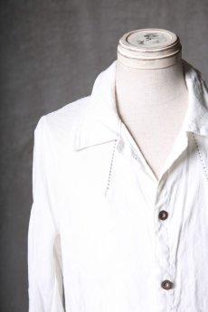 画像9: Wir Lineal / リネアル / WL-1101-311 / Inorganic structure dolman sleeve L/R Long sleeve Shirts (9)