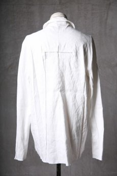 画像8: Wir Lineal / リネアル / WL-1101-311 / Inorganic structure dolman sleeve L/R Long sleeve Shirts (8)