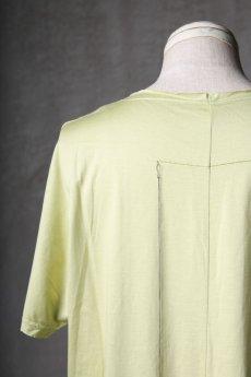 画像17: Wir Lineal / リネアル / WL-1106-311 / Inorganic structure dolman sleeve C/L T-Shirts (17)