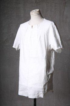 画像2: Wir Lineal / リネアル / WL-1102-311 / Inorganic structure dolman sleeve L/R T-shirts (2)