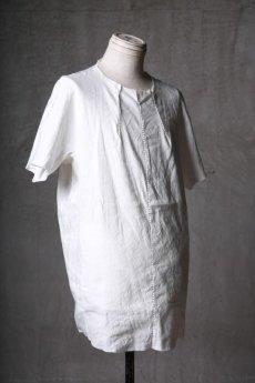 画像3: Wir Lineal / リネアル / WL-1102-311 / Inorganic structure dolman sleeve L/R T-shirts (3)