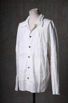 画像2: Wir Lineal / リネアル / WL-1101-311 / Inorganic structure dolman sleeve L/R Long sleeve Shirts (2)