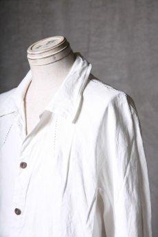 画像15: Wir Lineal / リネアル / WL-1101-311 / Inorganic structure dolman sleeve L/R Long sleeve Shirts (15)