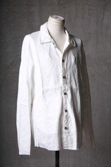 画像3: Wir Lineal / リネアル / WL-1101-311 / Inorganic structure dolman sleeve L/R Long sleeve Shirts (3)